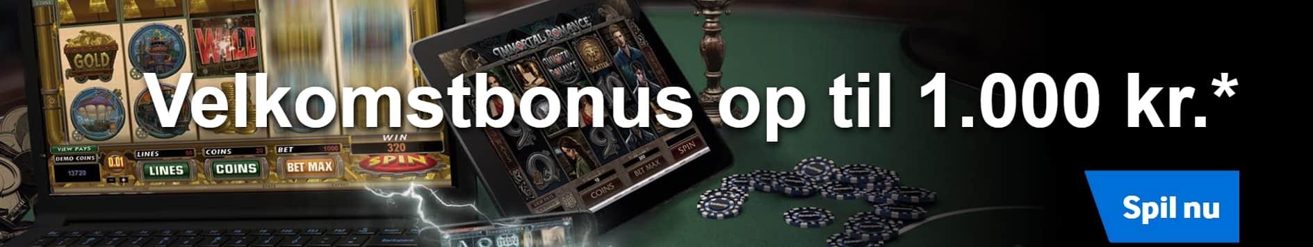 casino med velkomstbonus